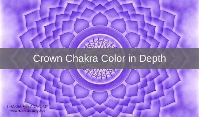 crown chakra colors