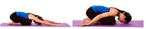 child pose for sacral chakra balancing