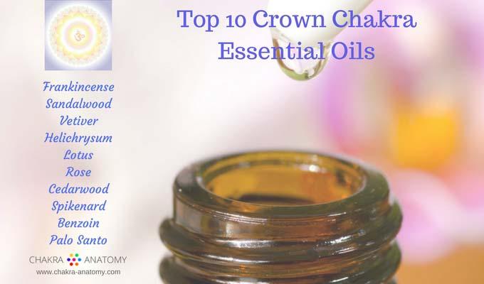 Top 10 Crown Chakra Essential Oils