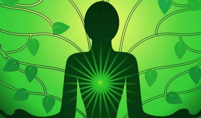 Full Moon Group Healing Spell: Green Candle. For Health, Wealth, Success & Fertility Heart-chakra-color