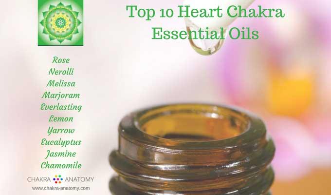 heart chakra essential oils