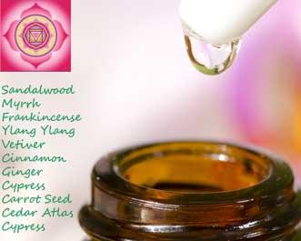 root chakra essential oils