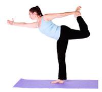 dancers pose to balance sacral chakra