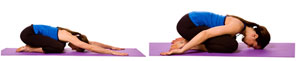 child pose for sacral chakra balancing