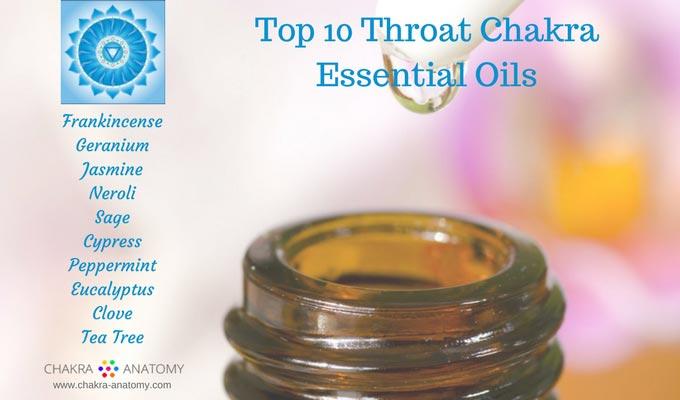Top 10 Throat Chakra Essential Oils