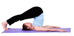 plow pose to open throat chakra
